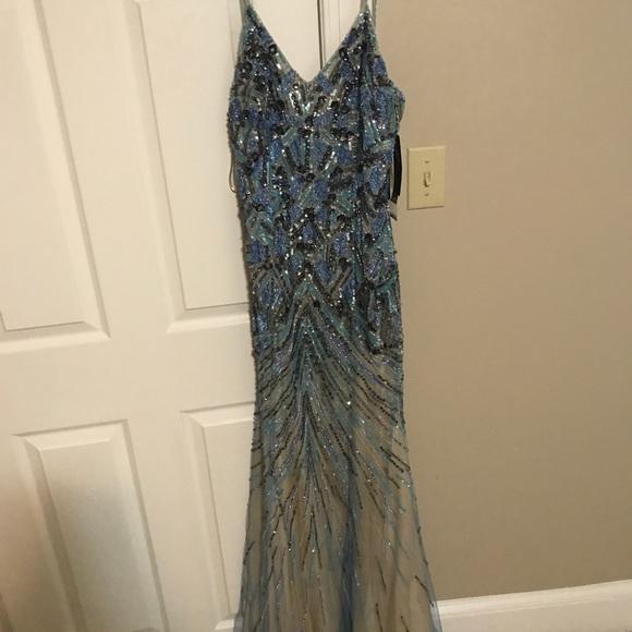 Saks Fifth Avenue Black Label Dresses | Black Label Evening Gown ...